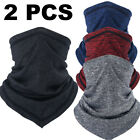 2PCS Cooling Face Mask Bandana Sun Dust Protection Neck Gaiter Cover for Cycling