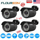 2X/4X 2MP 1080P 3000TVL Outdoor CCTV DVR Security Camera Night Vision Waterproof