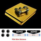 Golden luster, more Skin Decal Vinyl Sticker For Palystation 4 PS4 Slim Console