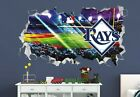 Tampa Bay Rays Baseball MLB Custom Smashed 3D Wall Decal Sticker Vinyl ORI715 on Ebay