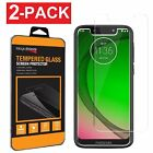 2-Pack Tempered Glass Screen Protector For Motorola Moto G7 Play/ G7 Power Supra