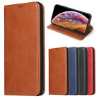 For iPhone XR XS Max 7 8 Book Flip Business Case Leather Magnetic Wallet Cover