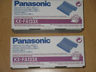 Panasonic KX-FA133X Thermo Transfer Rolle Black OVP 001