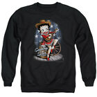 Betty Boop COUNTRY STAR Cowboy Hat & Boots Licensed Adult Sweatshirt S-3XL $34.9 USD on eBay