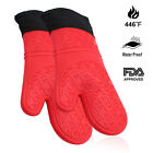 Extreme Heat Resistant BBQ Gloves, Food Grade Kitchen Oven Mitts Flexible Gloves