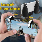 Mobile Phone Gaming Joystick Controller Trigger Fire Button Gamepad For PUBG UK