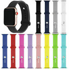 Replacement Silicone Bracelet Sports Band Strap For A pple  Watch Series 4/3/2/1