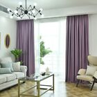Thick Fabric Shading Bedroom Living Room Blackout Curtain Solid Color