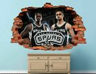 San Antonio Spurs Basketball NBA Custom Smashed 3D Wall Decal Sticker Vinyl AH14 on eBay