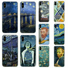 Starry Night Van Gogh Hard Case for Apple iPhone XS Max XR X 8 7 6 6S Plus