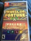 America's Greatest Game Shows: Wheel of Fortune & Jeopardy! Switch [Brand New]