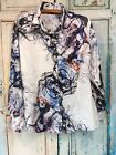 Georg Roth Los Angeles Ladies Pyschedelic Shirt Stunning Colors L $185