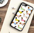 Phone Case Dachshund Sausage Dog Beautiful Hard - Rubber - Back Cover For Iphone
