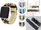 Wrist Belt Leather Band For Apple Watch iwatch Series 5 4 3 2 1 Wrist Strap image
