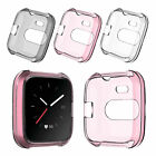 For Fitbit Versa Lite Bands Fitness Sleeve Case Silicone Protective Soft Cover
