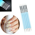 Handle Manicure Tool Clay Shaper Sculpting Pottery Tool  Nail Art Silicone Pen image