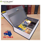 Hidden Treasure Dictionary Lockable Book Safe Box With Two Key Lock safes L
