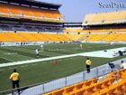 (2) Steelers vs Dolphins Tickets 8th Row Lower Level Sidelines!!