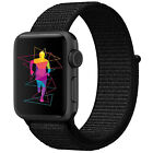 Nylon Woven Sport Loop Band Strap For Apple Watch iWatch Series 5/4/3/21 38-44mm <br/> ⭐Buy 3 Get 1 Free (Add 4 to Basket) ⭐48Color⭐UK Seller
