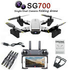 2019 Newest SG900 Rc Drone Folding GPS Smart Follow + 360Rotation+ Gesture Video