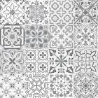 Grey Mosaic / Pattern Tile Stickers For 150mm X 150mm / 6x6 In 4x4 In T177