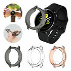 Soft TPU Bumper Case Cover Screen Protector For Samsung Galaxy Watch Active 40mm