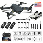 Drone pro 2.4G WIFI FPV With 2MP HD Camera Foldable RC Quadcopter+3Reserve Battery