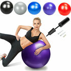 Lot 1000 lbs Fitness Exercise Stability Ball Yoga Pilates Anti Burst W/ Air Pump image