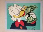 "Alec monopoly ""The Money Duck"" ,Handcraft Oil Painting on Canvas ,24x30inch"