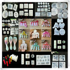 DIY  Tool Silicone Resin Mold Jewelry Pendant Making Tool Mould Handmade Craft