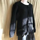 Betty Barclay cardigan black coarse buttoned Size 18W