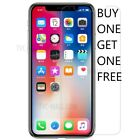FULL COVER TEMPERED GLASS Screen Protector for iPhone X XS XR 8 7 2D