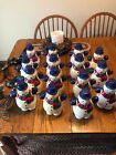 Snowman Pathway Outdoor Light Topper Blow Mold Christmas Decorations  (15)