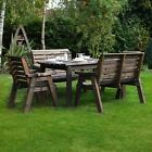 Barrowden Outdoor Wooden Garden Dining Set / Table / Furniture - 6 Seat - 240cm