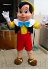 2019 Halloween Pinocchio Mascot Costume Cosplay Party Game Dress Adults Outfits