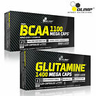 BCAA + GLUTAMINE Branched Chain Amino Acids Anabolic Anticatabolic Supplements