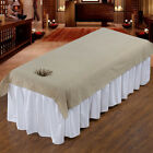 Beauty SPA Salon Washable Cotton Acupuncture Massage Table Bed Pad Cover Mat