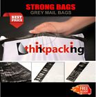 1000 Premium Strong 12x16 size WHITE Virgin Plastic Mailing Poly Postage Bag