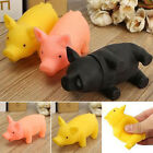 About rubber Pet Dog Puppy Pig Shape ChewFetch Play Toy Squeaker Squeaky Soun Sv