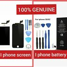 iPhone BATTERY & SCREEN REPLACEMENT FOR 4,5,5S 6 6s,7,8 Plus GRADE AAA+ 2019