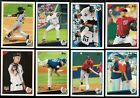 2009 Topps Update Complete Team Set Rookie Card Logo RC Base Set Traded Updates