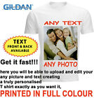 Personalised T-shirt Custom Your Image Printed Stag Hen Party Men Women Kids DTG image
