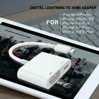 8 Pin Lightning To HDMI AV TV Cable Adapter For i-Pad Android i-Phone 6 7 8 X XR