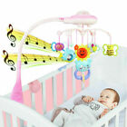 Baby Musical Crib Bed Cot Mobile Light Flash Nusery Lullaby Rattles Projection