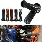 "Motorcycle 7/8"" 1"" Rubber Gel Hand Grips 6 Color For Yamaha FZ-07 09 FZ1 FZ8 FZ6"