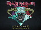 IRON MAIDEN  LEGACY OF THE BEAST  2018 TOUR  T- SHIRT SIZE XL 48  INCH..rock.