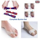 Gel Bunion Straightener Corrector Complete Set Protector Splint Toe Spreader  <br/> ✔ First full set for gel bunion ✔UK Seller✔ 1st Class✔
