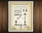 Tablet Making Patent Print Blueprint Medicine Decor Vintage Poster Wall Art Gift