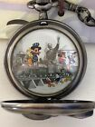 Walt Disney Limited Edition Fossil Pocket Watch Collectors Series IV Train Engin