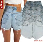 Levis 501 Womens Vintage High Waisted Hotpants Denim Shorts Grade A 6 to 16 <br/> WEEKLY NEW STOCK, TOP CUSTOMER SERVICE, 100% GENUINE